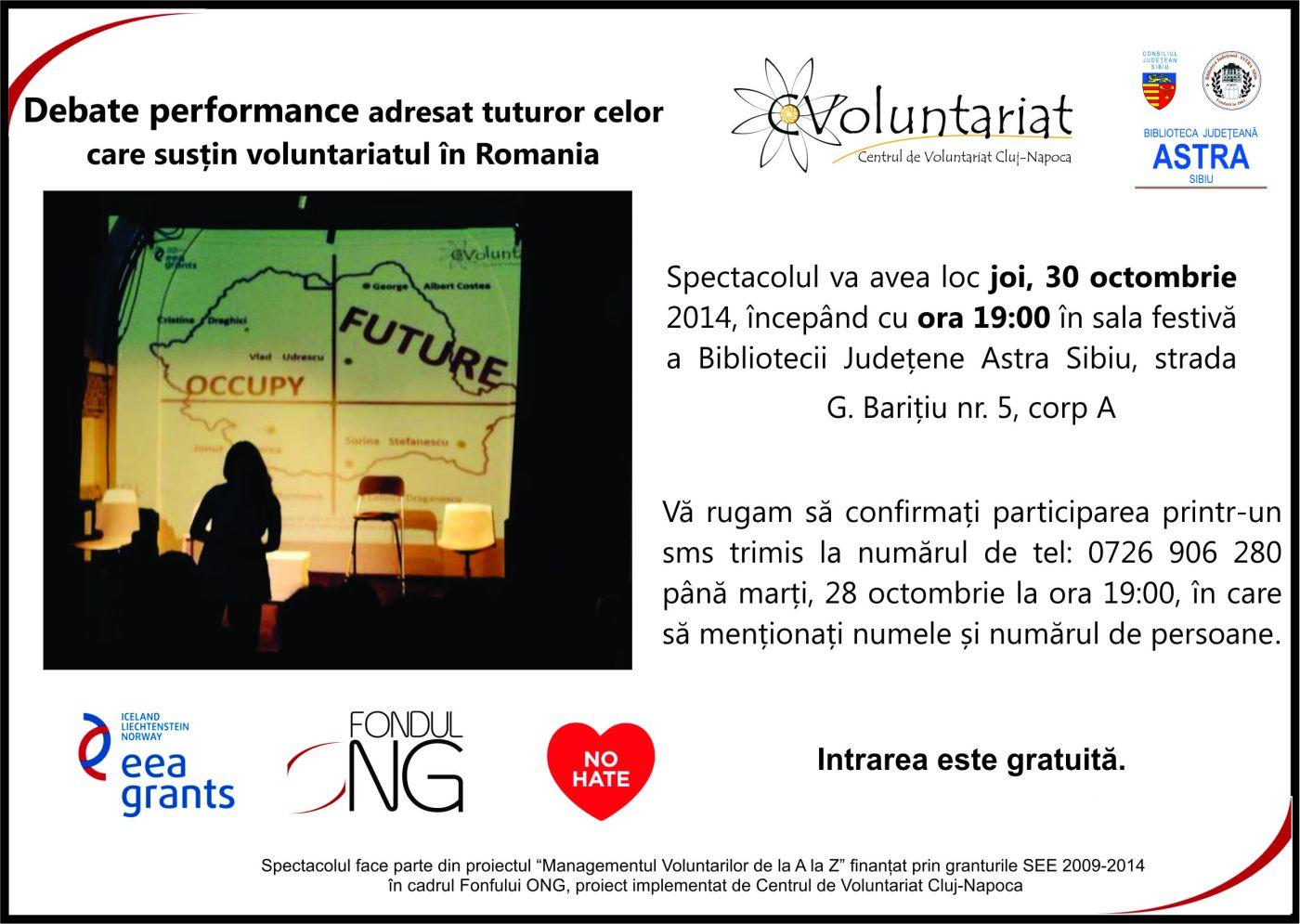 Călătorie într-un viitor dedicat voluntariatului