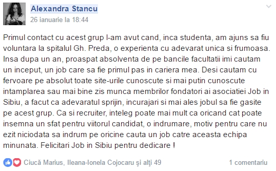 testimonial _alexandra stancu